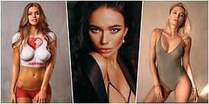 Buralar Alev Aldı! Ünlü Erkek Dergisi MAXIM'e Göre Rusya'nın En Seksi Kadınları Seçildi