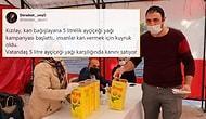 Kan Verene 5 Litrelik Yağ Hediye: Kızılay'ın Kampanyası Sosyal Medyada Tepki Çekti