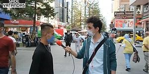 'Ben MHP'liyim, Tayyip'i Tutmuyorum, Milletin Hakkını Gasp Ediyor' Diyen Genç Yarın Seçim Olsa Kime Oy Verirsin Sorusuna 'Tayyip' Dedi