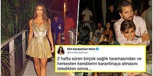 Koronavirüs Yokmuş Gibi! Kim Kardashian'ın Özel Bir Adada Yaptığı 'Mütevazı' Doğum Günü Partisi Tepkilerin Odağında