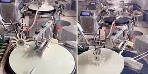 Daha Önce Hiç Seri Üretim Yapan Yufka Makinesi Görmüş müydünüz?