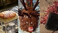 Yemek Yapmaya Çalışırken Birbirinden Komik ve Üzücü Olaylar Yaşayan 20 Talihsiz İnsan