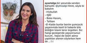 Oyuncu Ayşe Tolga, Instagram Hesabında Yaptığı 'İslami Terör Örgütü' Yorumuyla Sosyal Medyada Konuşuluyor