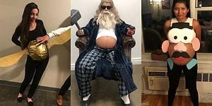 Cadılar Bayramı Kostümlerine Eğlenceli ve Yaratıcı Bir Bakış Açısı Getiren 13 Hamile Kadın