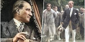 Cumhuriyetimizin Kurucusu Ulu Önder Atatürk'ün Baktıkça İçinizdeki Özlemi Daha da Perçinleyecek Fotoğrafları