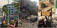 Çok Sayıda Bina Yıkıldı: Ege Açıklarında Meydana Gelen 6.6 Büyüklüğündeki Depremin Ardından İzmir'deki Görüntüler