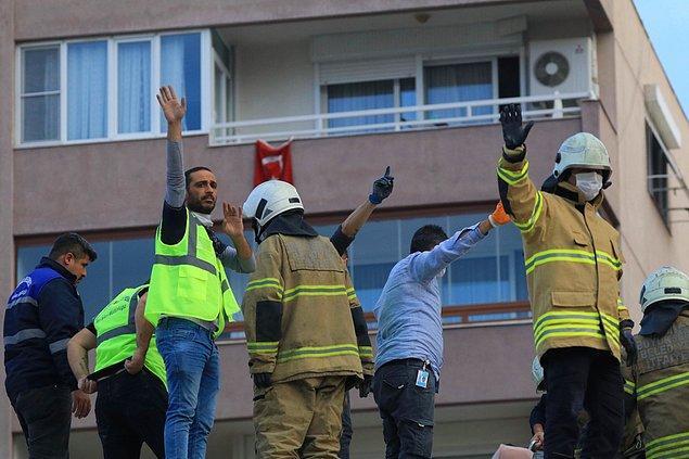 18:20 Enkaz altında kalanları kurtarma çalışmaları sürüyor