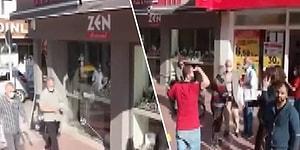 İzmir'de 6,6 Büyüklüğündeki Deprem Anında Drone ile Kayıt Yapan Kişi Yaşanan O Korku Dolu Anları Anbean Kaydetti