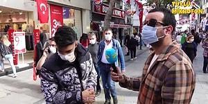 Tüylü Mikrofon, İzmir'de Sokak Röportajı Yaptığı Sırada Deprem Oldu İnsanlar Korkudan Fenalık Geçirdi