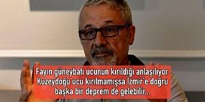 Prof. Dr. Naci Görür, İzmir'deki 6,6 Büyüklüğündeki Depremi Yorumladı: İzmir'e Doğru Başka Depremler Gelebilir!