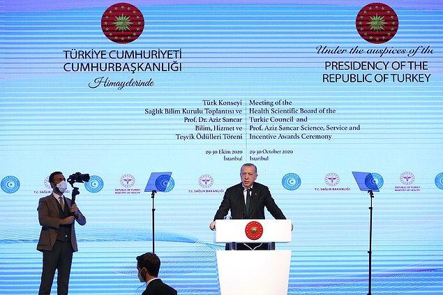 20:20 Cumhurbaşkanı Erdoğan: Depremde 12 can kaybı, 438 yaralı var