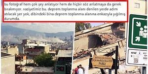 İzmir Kan Ağlıyor! Deprem Sonrası Toplanma Alanlarının Yetersizliği İnsanları Veryansın Ettirdi