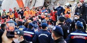 Canlı Anlatım | İzmir'de 17 Saat Sonra 3 Mucize Kurtuluş