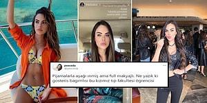 Sosyal Medyanın Fenomen Doktoru Berika Demir, İzmir Paylaşımı ile Tepki Çekti: 'Babamla Pijamalarla Markete İndik, Yüzler Gülmüyor'