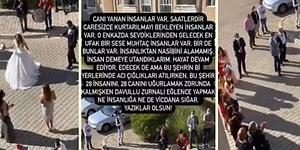 Cenaze Var Cenaze! Dün 6,6 Büyüklüğünde Deprem Olan İzmir'de Bugün Düğün Yaptılar İddiası: Karşıyaka'da Yapılan Düğüne Tepkiler Gecikmedi