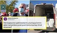 Helal Olsun Sana Başkanım! Depremden Etkilenen Hayvanları Unutmayan Mansur Yavaş, İzmir'e Çuval Çuval Mama Götürdü