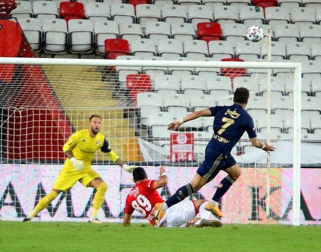 Süper Lig'de 7. hafta maçında Antalyaspor ile Fenerbahçe karşı karşıya geldi.