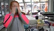 10 Yaşındaki Ekin, İzmir'e Maske Bağışlarken Gözyaşlarını Tutamadı