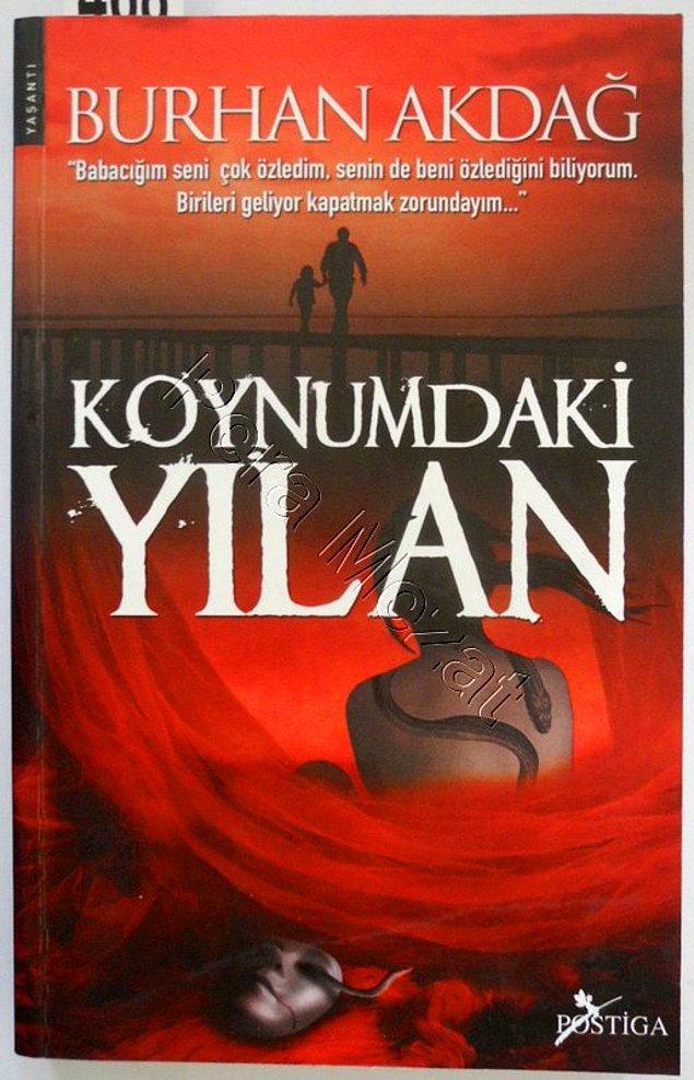 Burhan Akdağ'da Müge Anlıya kitap göndermesi: Koynumdaki Yılan