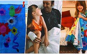 Babasının Kanser Tedavisi İçin Tek Başına 100 Bin Dolarlık Bağış Toplamaya Çalışan 7 Yaşındaki Koca Yürekli Kız