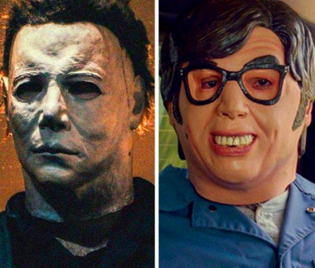 10. 'Tam Gaz' filminde aslında başka filmlerden maskeler kullanılacakken, stüdyo izin alamadığı için başka maske kullanılmak zorunda kalınmış.