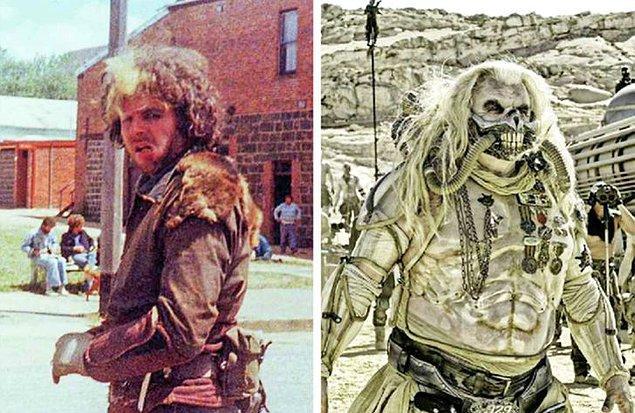 15. 'Mad Max: Fury Road' filmindeki kötü karakter Hugh Keays-Bryne tarafından oynanmıştır. Aynı kişi 1979 yapımı Mad Max filminde de kötü karakteri canlandırmaktadır.