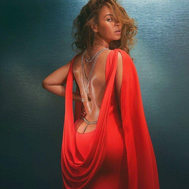 8. Beyoncé, geçtiğimiz hafta bir dergiye kapak olduğu bu pozla epey ses getirdi.