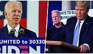 Biden'ın Üstünlüğüne Dayanamayarak Tepki Gösteren Adam ve Ona Yapılan Gelen Yorumlar