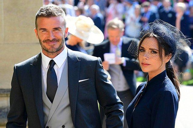 14. Victoria Beckham, David Beckham'ın poposunu paylaştı!