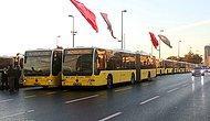 Metrobüs Seferleri Fatih Sultan Mehmet Köprüsü'nden Yapılıyor