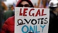Trump Destekçileri Seçim Sonuçlarını Protesto Ediyor
