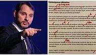 Berat Albayrak'ın Instagram Hesabından Paylaştığı İstifa Metnindeki Yazım Yanlışları Sosyal Medyanın Gündeminde