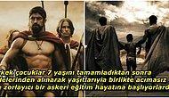 """""""Çocukların Eline Bir Kılıç Verilerek Düşman Bölgesine Bırakılıyordu!"""" Filmlere Konu Olan Sparta Askerlerinin Akılalmaz Eğitim Süreci"""