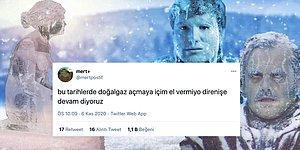 Balkanlardan Gelen Soğuk Hava Dalgasını Kombi ve Doğal Gaz Esprileriyle Önlemeye Çalışan 14 Twitter Kullanıcısı