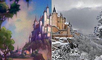 Disney Çizgi Filmlerinde Gördüğümüz 20 Mekanın İlham Aldığı Gerçek Yerler