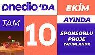 Onedio'da Ekim Ayında Yayına Giren Sponsorlu Projeler