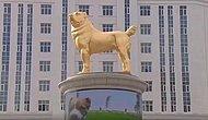Türkmenistan Devlet Başkanı Gurbanguly Berdimukhamedov En Sevdiği Köpeğin Heykelini Yaptırıp Meydana Koydurdu