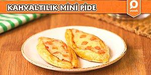 Çıtır Çıtır, Bol Malzemeli Kahvaltılı Mini Pide Nasıl Yapılır?