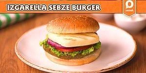 Izgarella Ve Sebze Köftesinin Mükemmel Uyumu: Sebze Köfteli Izgarella Burger Nasıl Yapılır?