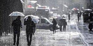 Meteoroloji Uyardı! İstanbul'da Yağış Bekleniyor