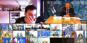 Hollandalı Gazeteci, AB Savunma Bakanları'nın Gizli Zoom Toplantısına Daldı: 'Polisler Gelmeden Çıksan İyi Olur'