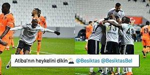 Kara Kartal'ın Atiba'sı Var! Beşiktaş'ın Sayısız Eksiğine Rağmen Başakşehir'i Devirdiği Maçta Yaşananlar ve Tepkiler