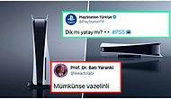 Satış Fiyatı 8 Bin 299 TL Olan PlayStation 5 İçin 'Dik mi Yatay mı?' Sorusuna Verdikleri Cevaplarla Kahkaha Attıran 17 Kişi