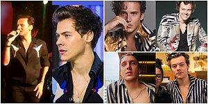 Edis, Yılın Moda İkonu Seçilen Dünyaca Ünlü Şarkıcı Harry Styles'ın Tarzını mı Taklit Ediyor?