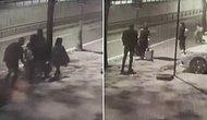 12 Yaşındaki Kıza Dokundu! İstanbul'da Ukraynalı Aileye Sokak Ortasında Taciz Kamerada
