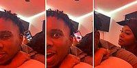 Sevgilisinin Telefonundan Gelen Mesaj Seslerinden Şüphelenince Kamera ile Kontrol Etmek İsteyen Kadın Fena Yakalandı