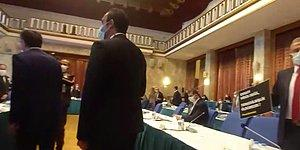 CHP Milletvekili Girgin Bakana Seslenirken Polis Danışmanlarına Müdahale Etti