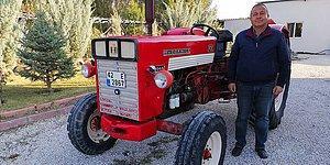 Yıllarca İzini Sürdü: Baba Yadigarı Traktöre 27 Yıl Sonra Yeniden Kavuştu