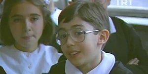1987 Yılında Yapılan Röportajda Duru ve Zarif Türkçeleri ile Dikkat Çeken Öğretmen, Öğrenciler ve Veliler