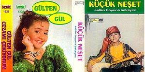Çocuk Şarkıcı Furyasında Albüm Yapmış 18 Çocuk Şarkıcının Kaset Kapakları